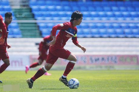 U22 Viet Nam thang dam 4-1 truoc chu nha Mokpo City FC - Anh 1