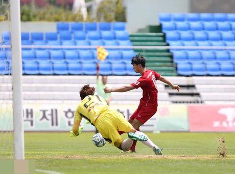 U22 Viet Nam thang dam 4-1 truoc chu nha Mokpo City FC - Anh 3