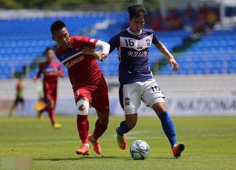 U22 Viet Nam thang dam 4-1 truoc chu nha Mokpo City FC - Anh 4