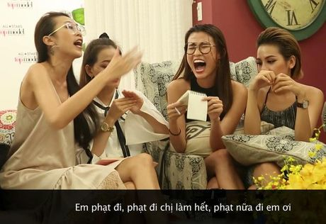 Khoanh khac xau xi cua thi sinh Vietnam's Next Top Model - Anh 1