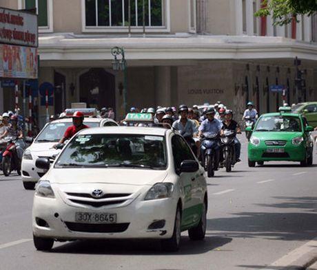 Taxi Ha Noi se chung mau son, phan vung hoat dong - Anh 1