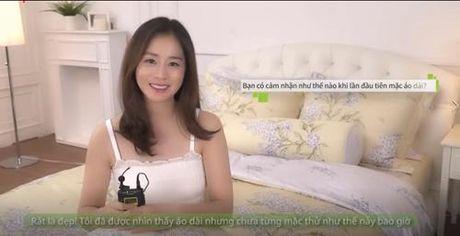 Kim Tae Hee mac ao dai chao fan Viet - Anh 2
