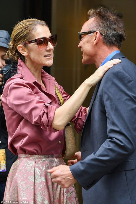 Celine Dion tuoi 49 van tu tin dien ca 'cay hong' - Anh 6