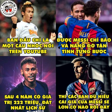 Biem hoa 24h: Cu dan mang tien cu sao Viet Nam thay Neymar o Barca - Anh 1