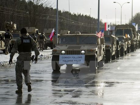 Luc luong NATO tai Ba Lan khong de doa cac loi ich cua Nga - Anh 1
