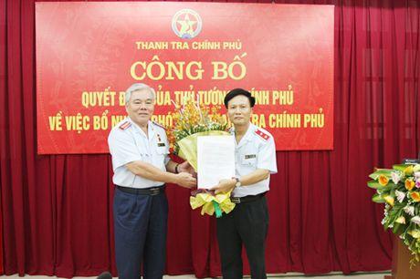 Cong bo quyet dinh bo nhiem Pho Tong Thanh tra Chinh phu - Anh 1