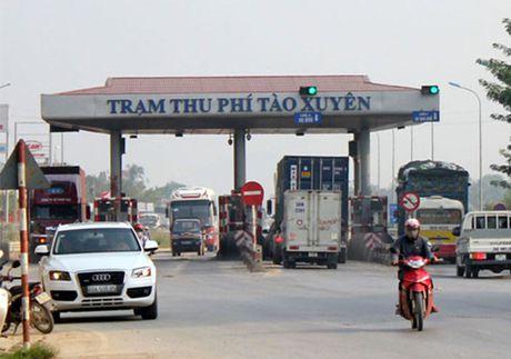 Tam dung thu phi tram BOT Tao Xuyen – Thanh Hoa tu 10.8 - Anh 1