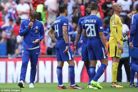 Chelsea thua Arsenal, Frank Lampard chi trich Conte ban Matic cho MU - Anh 1