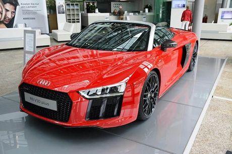 Siêu xe Audi R8 Spyder Plus giá bán bao nhiêu?