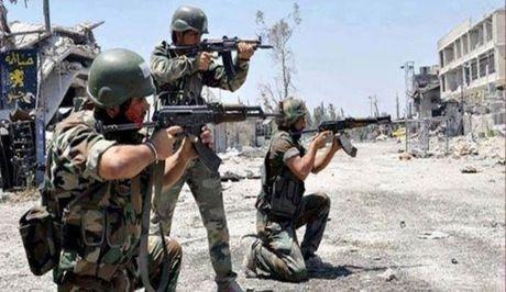 Quan doi Syria chiem thanh tri cuoi cung cua IS - Anh 1