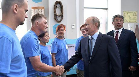 Lan dau tien ong Putin he lo voi cong chung dau hieu tranh cu Tong thong nam 2018 - Anh 1