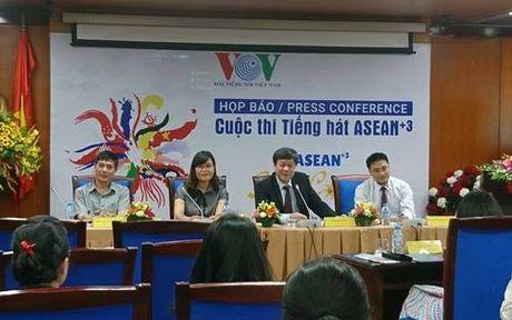 Cuoc thi tieng hat ASEAN+3 lan dau tien tai Viet Nam - Anh 1
