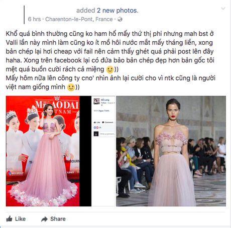 Tac gia cua chiec dam Ngoc Trinh mac bi to dao nhai phan phao - Anh 1