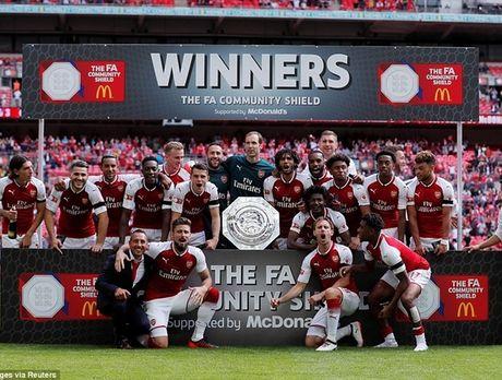 Chelsea sut luan luu nhu tha, Arsenal vo dich Sieu cup Anh - Anh 14