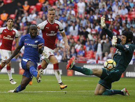 Chelsea sut luan luu nhu tha, Arsenal vo dich Sieu cup Anh - Anh 4