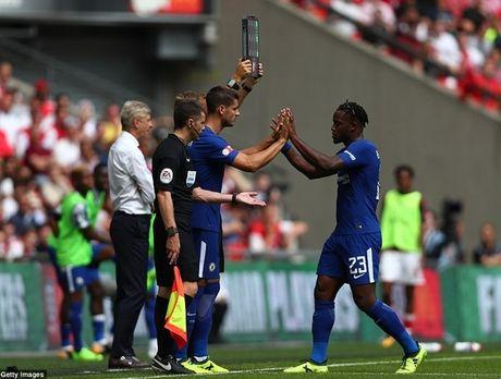 Chelsea sut luan luu nhu tha, Arsenal vo dich Sieu cup Anh - Anh 7