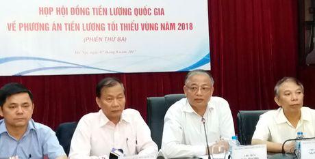 Chot luong toi thieu vung nam 2018 tang 6,5% - Anh 1