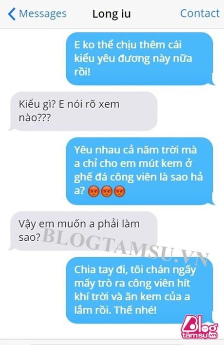 Cuoi met voi ly do chia tay 'chat hon nuoc cat' chi co thanh nien Viet Nam nghi ra - Anh 1