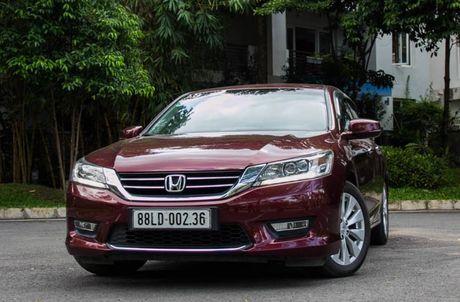 Honda Viet Nam bat dau trieu hoi 319 xe Accord nhap tu Thai Lan - Anh 1
