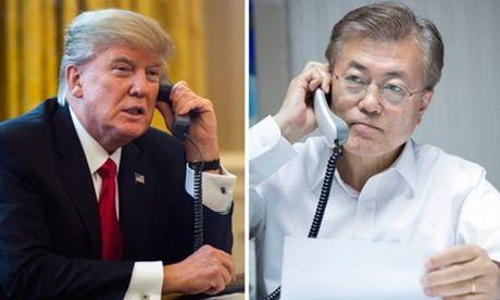 Trump noi Trieu Tien la 'moi de doa ngay cang truc tiep' den the gioi - Anh 1