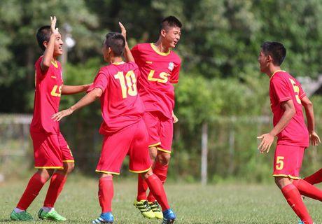 PVF thang 12-0 o giai U15 Quoc gia - Anh 1