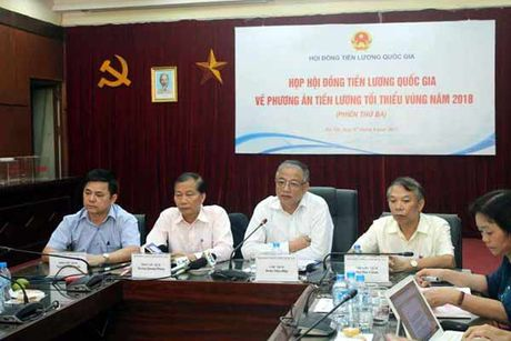 Chot de xuat tang luong 2018 6,5% - Anh 1