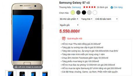 Mon hoi thang 8: Samsung Galaxy S7 gia chi hon 5 trieu dong - Anh 1