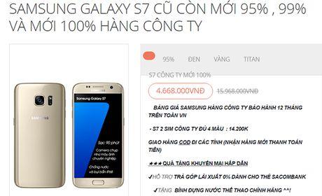 Mon hoi thang 8: Samsung Galaxy S7 gia chi hon 5 trieu dong - Anh 2