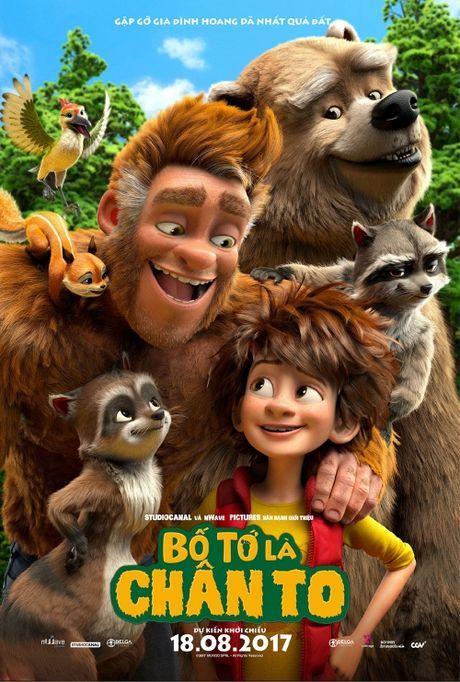 'The Son of Bigfoot': Du cha co bi xem la 'quai vat' thi van la cha cua con - Anh 4