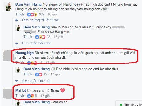 Fan nhiet tinh ung ho khi Mr.Dam 'keu cuu' giup nha tho bi chay - Anh 7