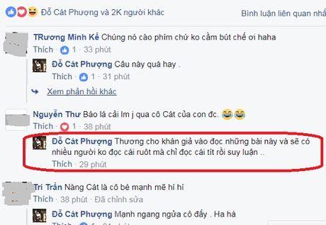 Cat Phuong buc xuc voi tit bao 'khoc thet vi nu hon Kieu Minh Tuan' - Anh 3