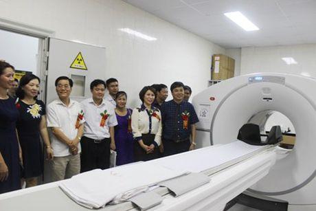 Benh vien dau tien cua Ha Noi co may chup PET/CT tam soat som ung thu - Anh 1