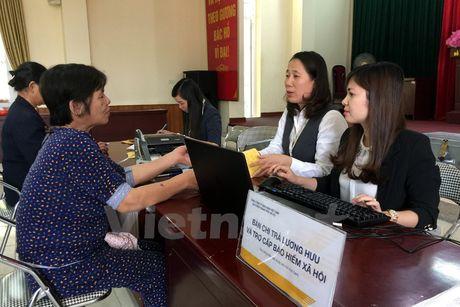 Chua dieu chinh luong huu, tro cap BHXH trong thang 8-2017 - Anh 1