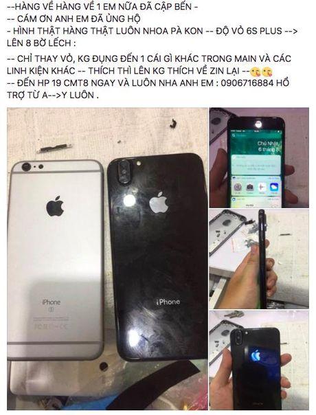 Xuat hien dich vu do vo iPhone 8 tai TP. HCM - Anh 1