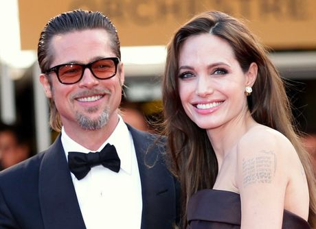Angelina Jolie va Brad Pitt quay lai voi nhau sau 8 thang ly hon? - Anh 1