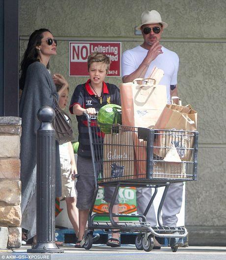 Angelina Jolie va Brad Pitt quay lai voi nhau sau 8 thang ly hon? - Anh 2