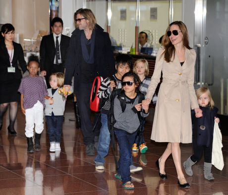 Angelina Jolie va Brad Pitt quay lai voi nhau sau 8 thang ly hon? - Anh 3