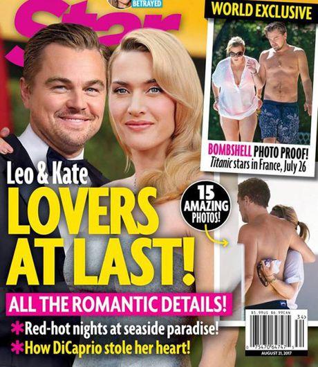 Leo DiCaprio va Kate Winslet om nhau tren bai bien lam day len tin don hen ho - Anh 1