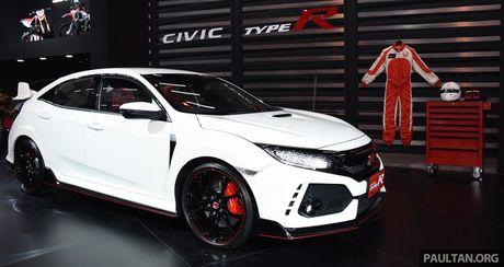 Honda Civic Type R 2018 ra mat tai Indonesia, gia hon 74.600 USD - Anh 4