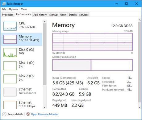 "Tim hieu ve tinh nang ""nen bo nho"" trong Windows 10 - Anh 3"