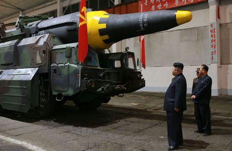Chu tich Kim Jong-un se xem xet ke hoach tan cong Guam vao giua thang 8 - Anh 1
