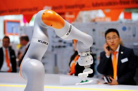 Han Quoc gioi thieu 'thue robot' dau tien tren the gioi - Anh 1
