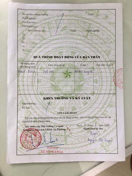Vu phe xau ly lich: UBND xa da sua sai - Anh 2