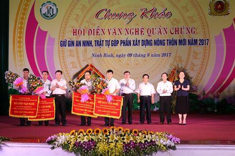 Chung khao Hoi dien van nghe quan chung giu gin ANTT, gop phan xay dung NTM Ninh Binh - Anh 2