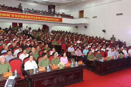 Chung khao Hoi dien van nghe quan chung giu gin ANTT, gop phan xay dung NTM Ninh Binh - Anh 3
