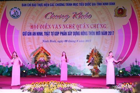 Chung khao Hoi dien van nghe quan chung giu gin ANTT, gop phan xay dung NTM Ninh Binh - Anh 4