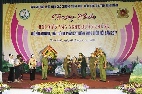 Chung khao Hoi dien van nghe quan chung giu gin ANTT, gop phan xay dung NTM Ninh Binh - Anh 5