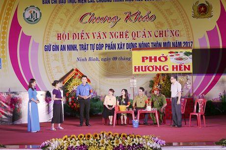 Chung khao Hoi dien van nghe quan chung giu gin ANTT, gop phan xay dung NTM Ninh Binh - Anh 6