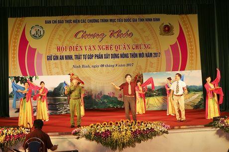 Chung khao Hoi dien van nghe quan chung giu gin ANTT, gop phan xay dung NTM Ninh Binh - Anh 7