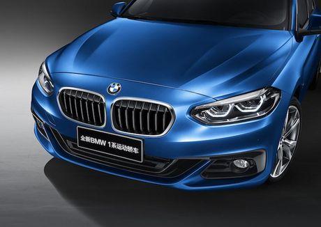 BMW 'nha hang' xe sang gia re 1 Series Sedan moi - Anh 3